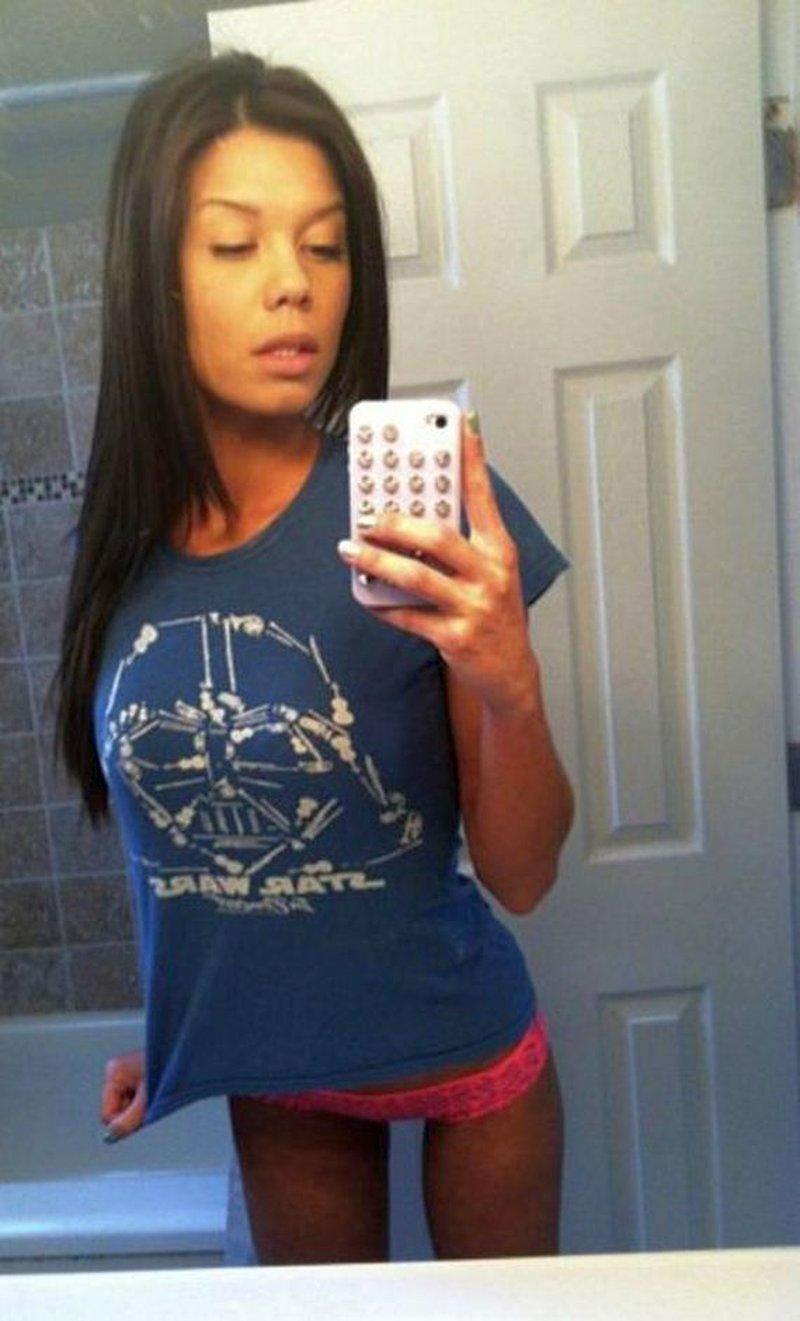 Sexy social media babes, spannende selfies - Seks Met