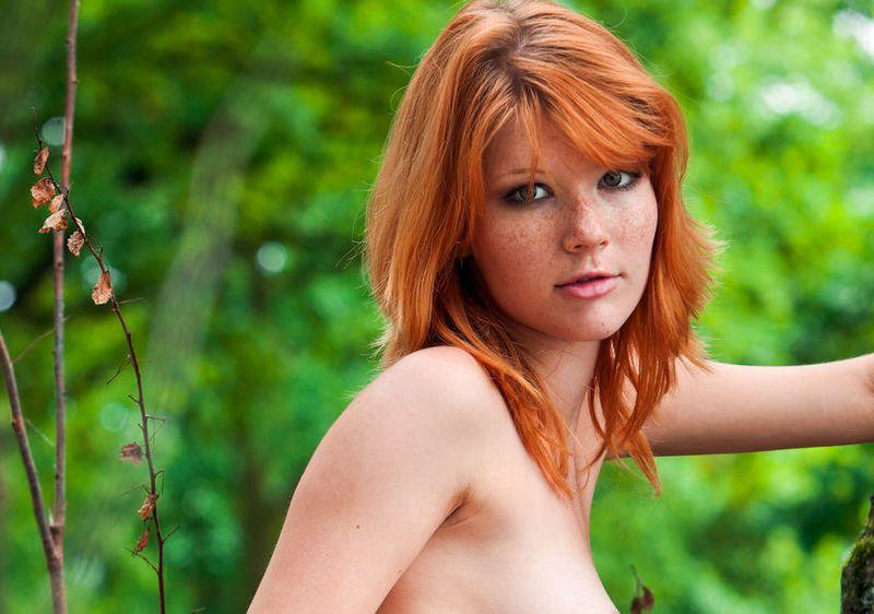 dominant massage rood haar