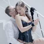Geile Caprice doet aan 50 Shades of Grey - Porno