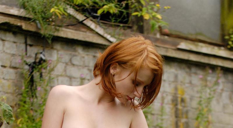 buiten massage rood haar