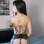 Jessica Alvarez, mooie tatoeages en sexy lingerie